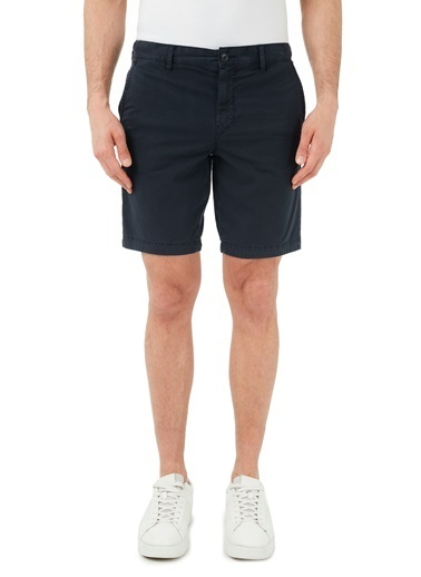 Hugo Boss  Pamuklu Slim Fit Short Erkek Short 50447772 404 Lacivert